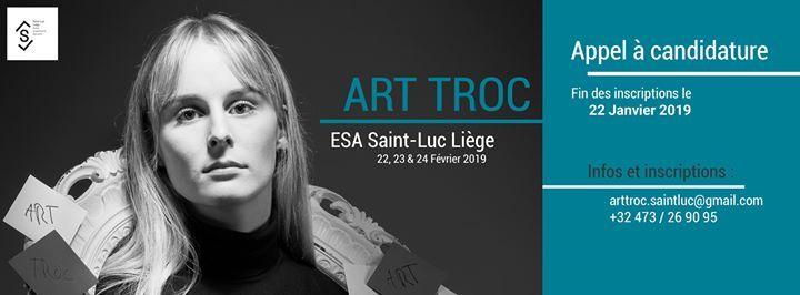 ART TROC ESA Saint Luc Lige 2019