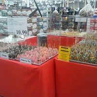 Costco SF Chocolate Factory Caramel Apple Road Show