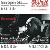 Herrenabend mit Rainer Gr Ania Rudolph &amp Henryk Gericke