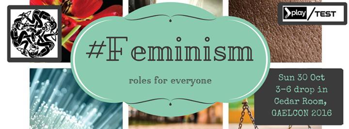 Hashtag Feminism Nano Games Gaelcon