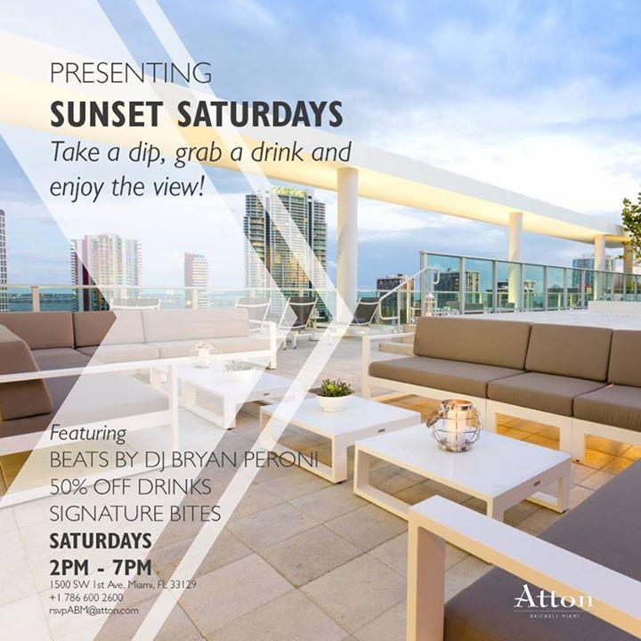 Sunset Saturday at Atton Miami
