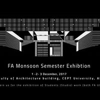 FA Monsoon Semester End Exhibition 2017