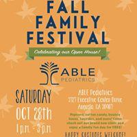 ABLE Pediatrics Family Fall Festival