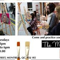 DayTime Painting - Come and practice your painting skills