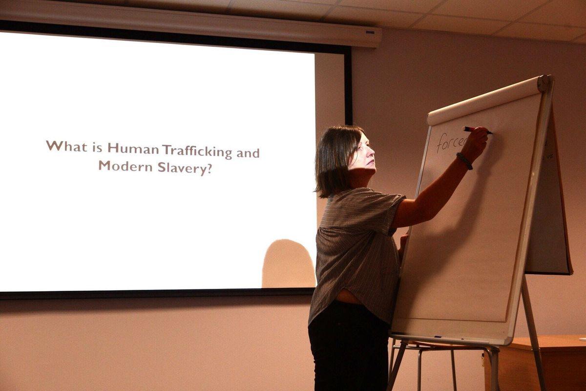 Slavery and Trafficking Training - Wednesday 20th Febraury 2019