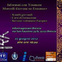 Erasmus - Informati con Youmore Morcelli Giovani