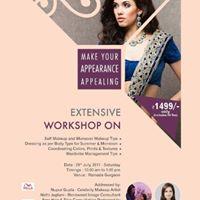 Monsoon Styling Grooming &amp Make-up Workshop