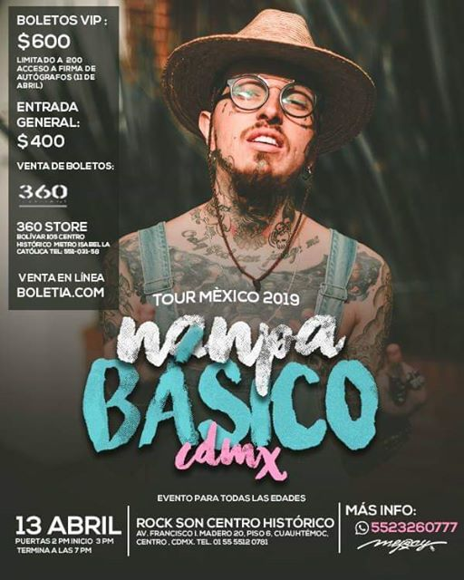 Tour México 2019 At Rock Son