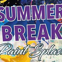 Summer BREAK - Paint Splash