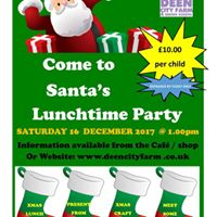 Santas Lunchtime Party