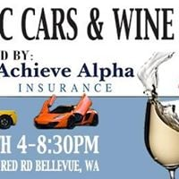 Exotic Cars &amp Wine Event Benefiting Veterans