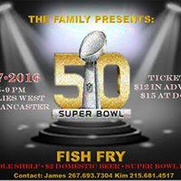 Super Bowl Fish Fry