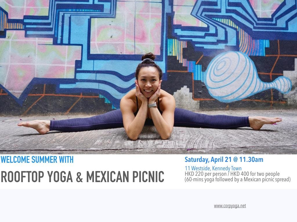 Pre-Summer Rooftop Yoga &amp Picnic