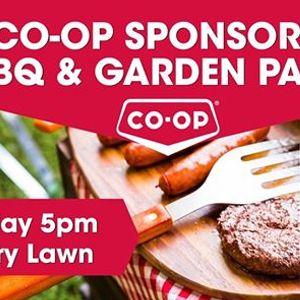 Co-op Sponsored BBQ &amp Garden Party