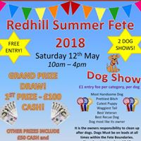 Redhill Summer Fete 2018 by 34th Bournemouth Scout Group