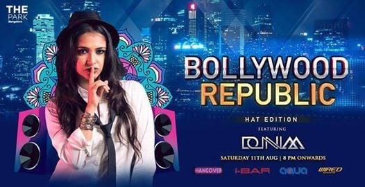 Bollywood Republic Saturday Ft. DJ Donnaa (11th Aug)