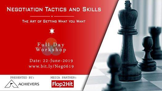 Negotiations Tactics and Skills