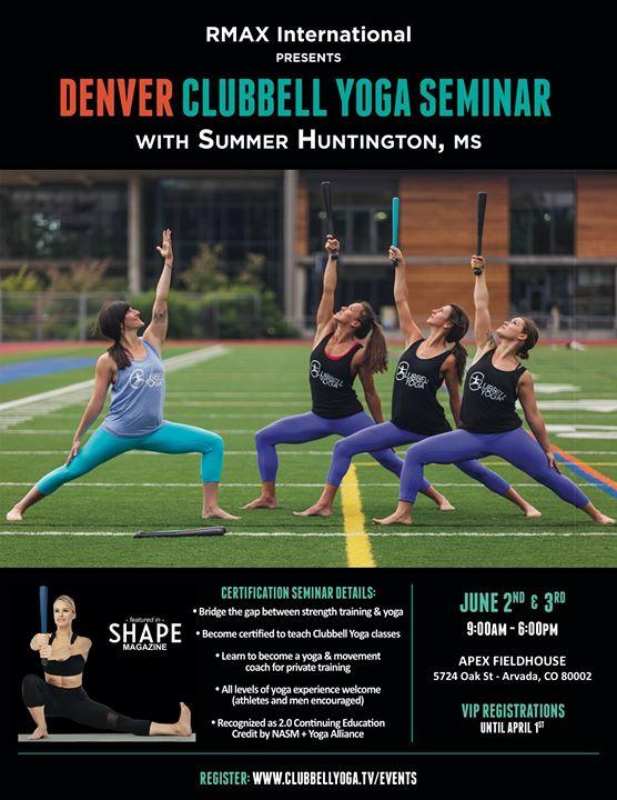 Clubbell yoga certification seminar denver co at apex field house clubbell yoga certification seminar denver co malvernweather Images