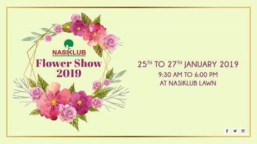 Nasiklub Flower Show 2019