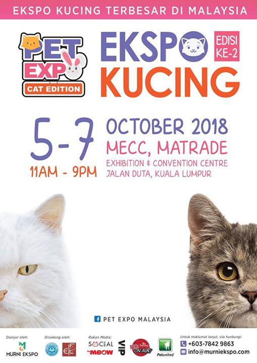 Ekspo Kucing  Hosted By Murni Ekspo