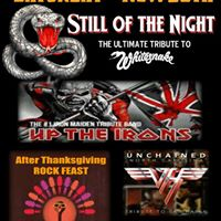 Give Thanks for ROCK   STILL OF THE NIGHT UP THE IRONS and UNCHAINED