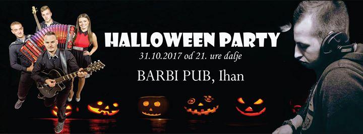 Halloween party s Skupino Brzina in Dee M-Thomas