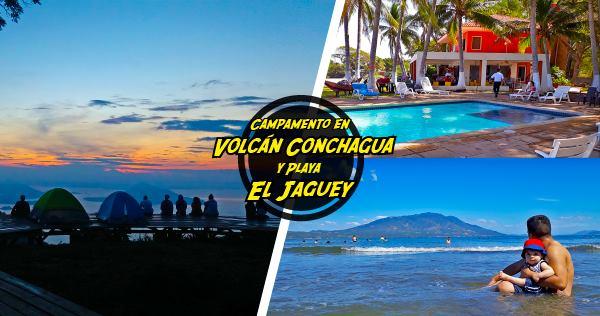 Camping En Volcn Conchagua Y Playa El Jaguey