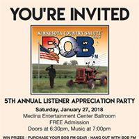 5th Annual Listener Appreciation Party