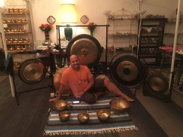 Meditation Tuesday - Singing Bowls and Gongs with Keith Caplan