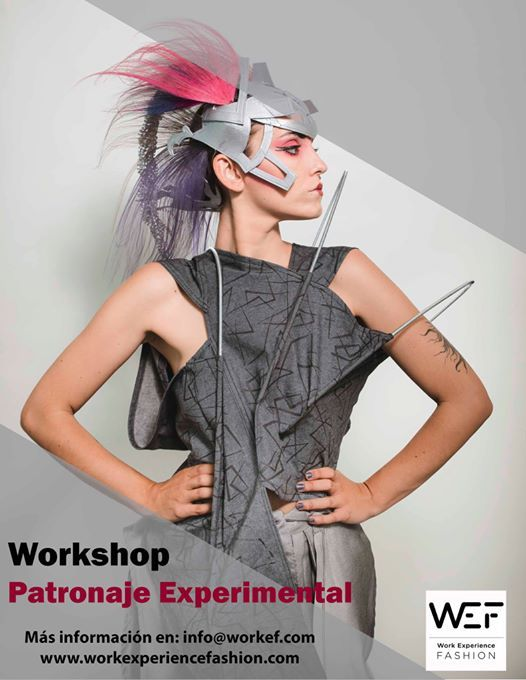 Workshop patronaje experimental Madrid