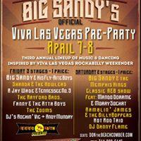 Big Sandys Viva Las Vegas Official Pre-party