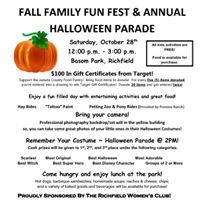 Annual Halloween Parade &amp Fall Family Fun Fest