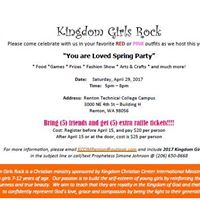Kingdom Girls Rock - You Are Loved Spring Party