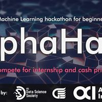 AlphaHack - ML Hackathon for Beginners