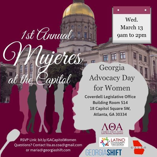 1st Annual Mujeres at the Capitol