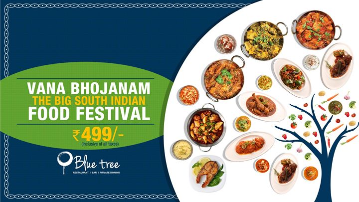 Vana bhojanam the big south indian food festival at for Abhiruchi south north indian cuisine