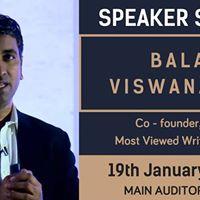 Keynote Address  Balaji Viswanathan
