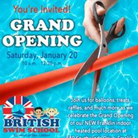 Grand Opening - New Location - Indoor Heated Pool