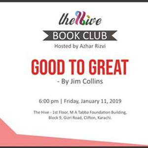 The Hives Book Club Good to Great