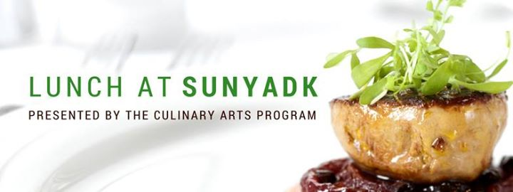 Lunch At Suny Adirondack Presented By The Culinary Arts
