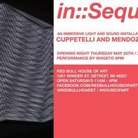 InSequence feat. Cuppetelli and Mendoza  Shigeto