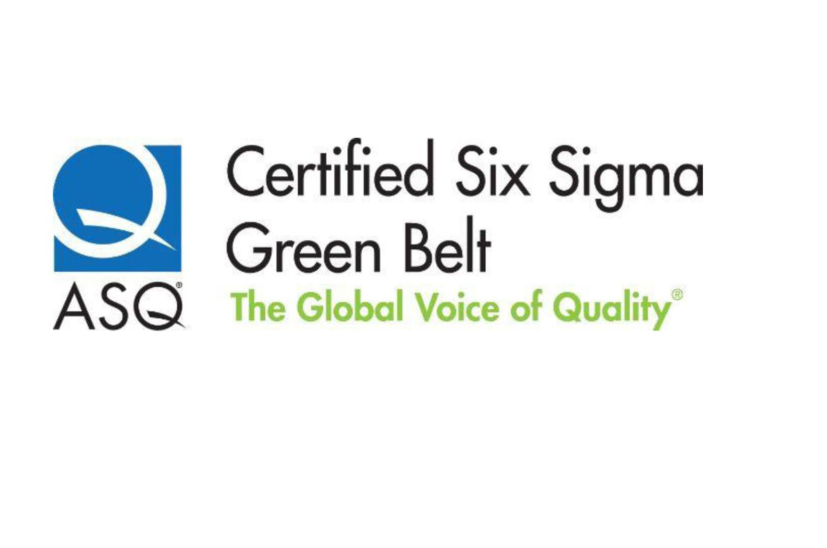 Certified Six Sigma Green Belt Cssgb Preparation Course At