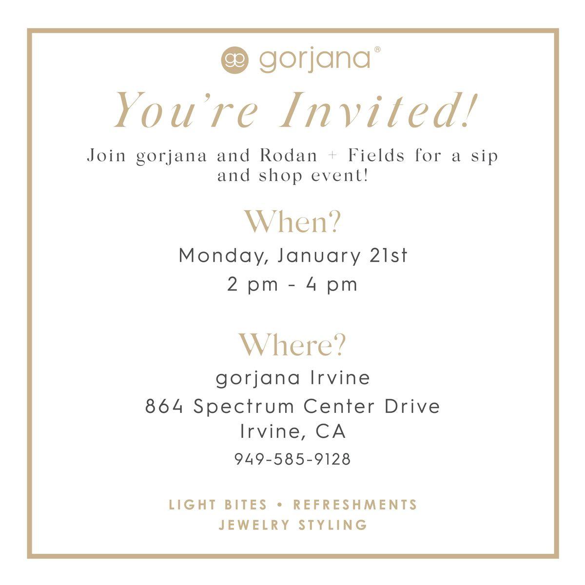 Gorjana  RF Shopping Event
