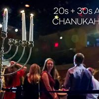 SOLD OUT 20s  30s Annual Chanukah Party