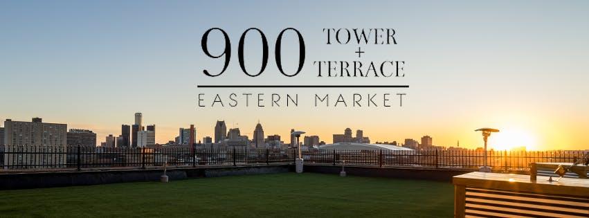 rooftop preview 900 tower terrace eastern market at 2501 orleans st detroit. Black Bedroom Furniture Sets. Home Design Ideas