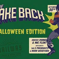 The Take Back Halloween Edition The Railway Stage &amp Beer Caf