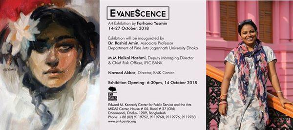 Evanescence - An Art Exhibition by Farhana Yasmin