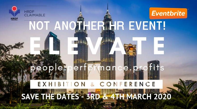 ELEVATE Exhibition & Conference 2020 People Performance Profits