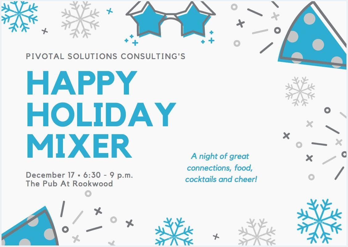Happy Holiday Mixer