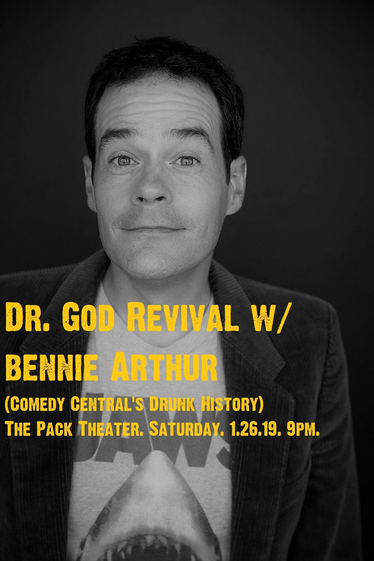 Dr. God Revival with Bennie Arthur (Comedy Centrals Drunk History)